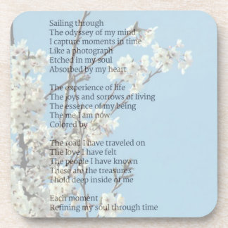 Poetic Expressions- Refinement Coaster