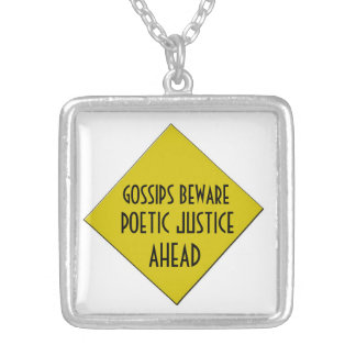 POETIC JUSTICE NECKLACE