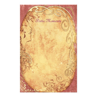 Poetic Moments - Art Nouveau Stationery