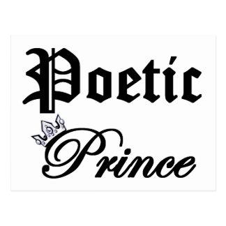Poetic Prince Postcard