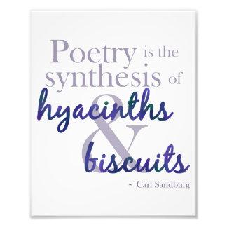 Poetic Synthesis Photo Print