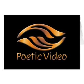 Poetic Video Logo Card
