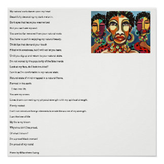 Poetic Wall Decals Poster