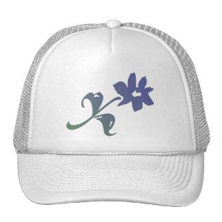 Poetica Blue Flower Trucker Hat