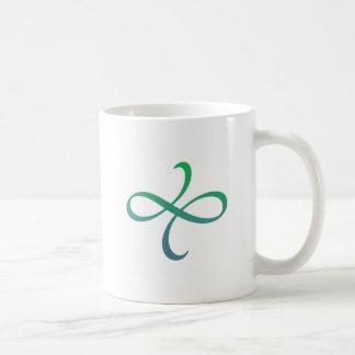 Poetica Flourish (blue-green) Coffee Mug