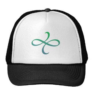 Poetica Flourish (blue-green) Trucker Hat