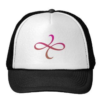 Poetica Flourish (pink-red-orange) Trucker Hat