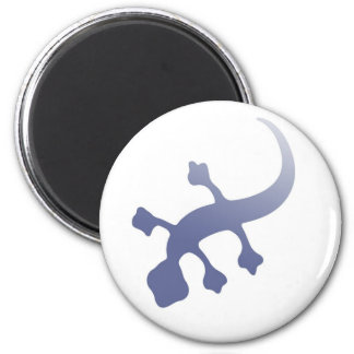 Poetica Gecko 2 Inch Round Magnet