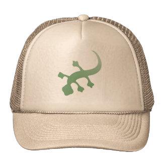 Poetica Gecko in Green Trucker Hat