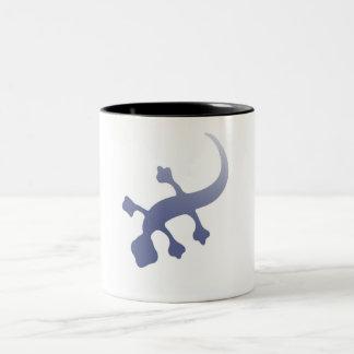 Poetica Gecko Two-Tone Coffee Mug