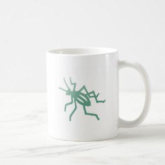 Poetica Green Cricket Coffee Mug