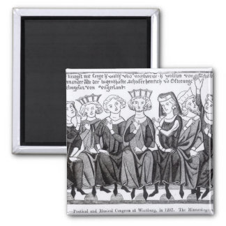 Poetical and Musical Congress 2 Inch Square Magnet