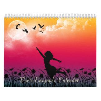 PoeticEnigma's Graphic Art Calender Calendar