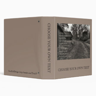 Poetry - A Million Stones 3 Ring Binder