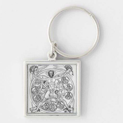 Poetry and Music Key Chains