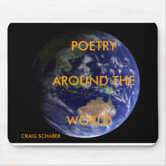 POETRY, AROUND THE,... MOUSE PAD