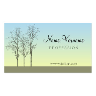 poetry business card