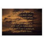 poetry clouds poster