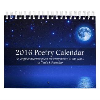 Poetry Collector Calendar