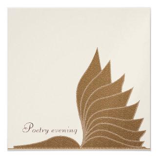 Poetry evening - invitation