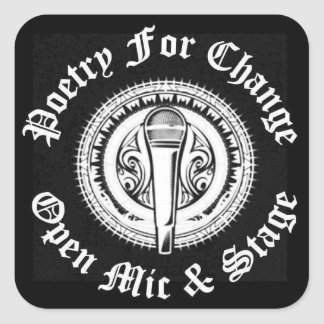 Poetry For Change Open Mic Sticker