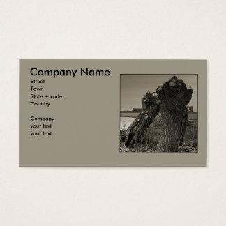 Poetry - Friendship Business Card