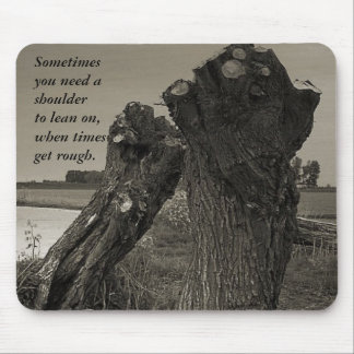 Poetry - Friendship Mouse Pad