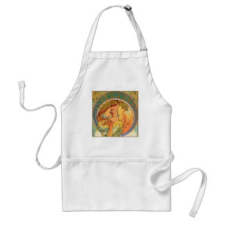 """POETRY from the series """"The Arts"""" by Mucha Adult Apron"""