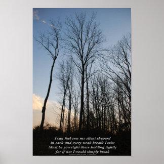 "Poetry in Art - ""A Personal Prayer"" excerpt print"