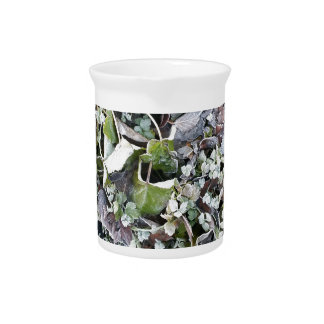 Poetry in leaves drink pitcher