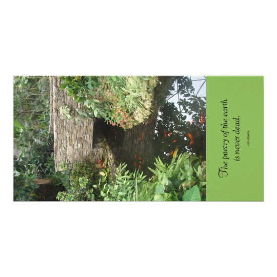Poetry of Earth Pond Notecard Card