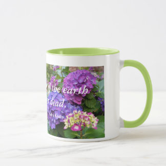 Poetry of the earth mug