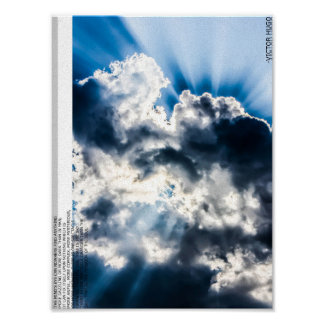 Poetry Poster--Grander than the Sky Poster
