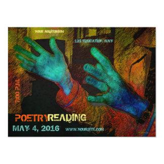Poetry Reading Invitation