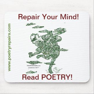 Poetry Repairs Dancing Man Mouse Pad
