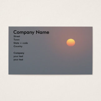 Poetry - Rising Sun Business Card