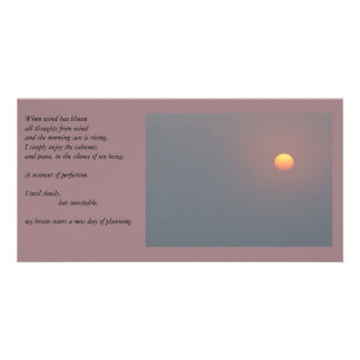 Poetry - Rising Sun Card