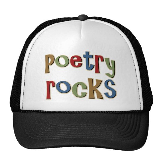Poetry Rocks Trucker Hat
