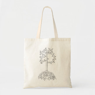 """Poetry Tree """"Is Alive"""" Tote Bag"""