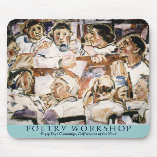 Poetry Workshop Mouse Pad