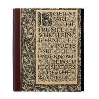 Poets Are - Shelley iPad Folio Case