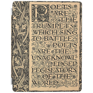Poets Are - Shelley iPad Smart Cover