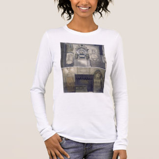 Poets' Corner, plate F from 'Westminster Abbey', e Long Sleeve T-Shirt