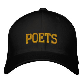 """Poets"" Embroidered Baseball Cap"