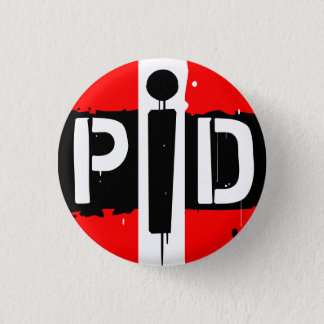 POETS IN DISTRESS STRIPED BUTTON