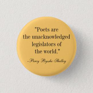 Poets Pinback Button