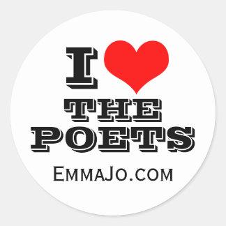 Poets Sticker
