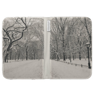 Poet's Walk - Central Park Winter Cases For The Kindle