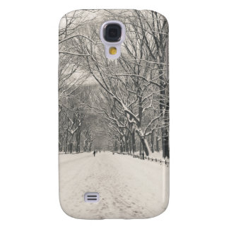 Poet's Walk - Central Park Winter Samsung Galaxy S4 Case
