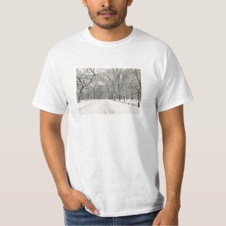 Poet's Walk - Central Park Winter T-Shirt